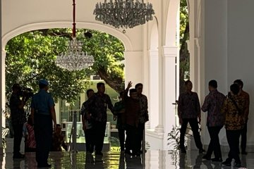 Pertemuan Presiden Jokowi dengan BJ Habibie