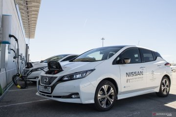 Nissan kerahkan 363 mobil listrik untuk final Liga Champions