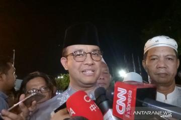 Anies: Antusiasme warga takbiran rayakan Idul Fitri luar biasa