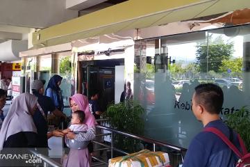 17.197 pemudik diberangkatkan dari Bandara Minangkabau