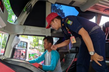 Pemudik melalui Terminal Poris-Tangerang capai 22.895 penumpang