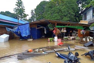 Ribuan orang terdampak banjir Mahakam Ulu