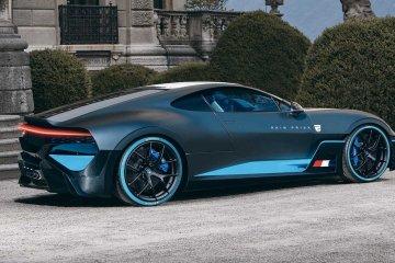 Desainer otomotif bikin Bugatti Divo dengan mesin di depan