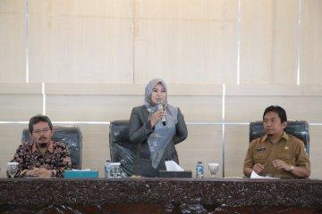 Bupati Pandeglang menerima peserta KKM IPB