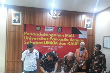 UP kolaborasi dengan UMKM DKI dan Alumni tingkatkan wirausaha