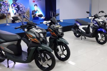 Warna baru X-ride terinspirasi Yamaha YZ series