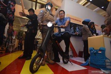 Inovasi teknologi di pameran internasional Kota Cerdas Indonesia