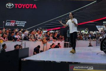Hadir di booth Toyota, Zach King disambut meriah pengunjung GIIAS
