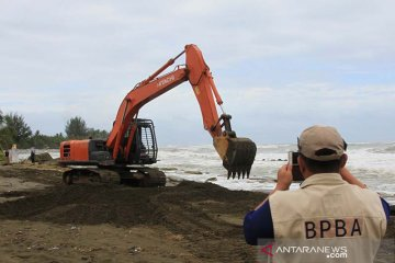 BPBA tinjau abrasi Aceh Barat