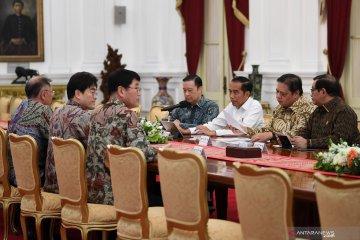 Menperin dampingi presiden bahas Investasi Hyundai di Indonesia