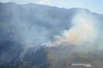Kebakaran hutan di Aceh Besar