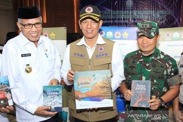 Peluncuran buku kebencanaan di Aceh