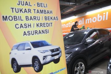 Penjualan mobil bekas menurun