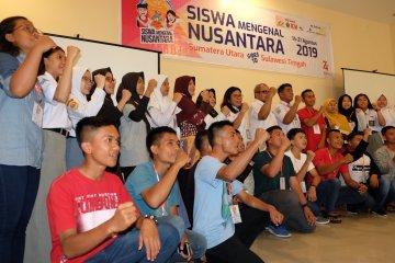 Siswa Mengenal Nusantara 2019 asal Sumut