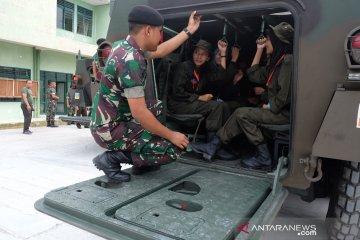 Peserta SMN PTPN IV asal Sulteng naik Panser Anoa