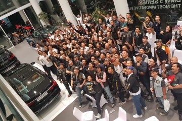 BMW Astra gandeng komunitas Harley-Davidson
