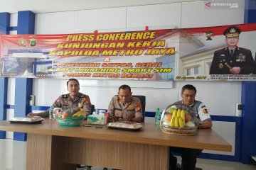 Korlantas Polri launching Smart SIM di Bekasi