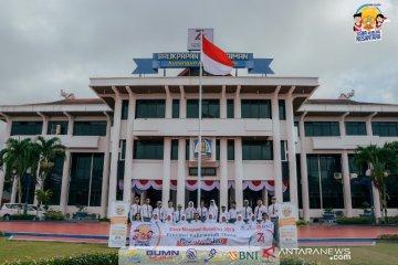 SMN 2019 Kaltim Foto Bersama di Depan Balai Kota Balikpapan