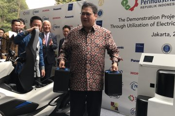Pemerintah incar investasi baterai kendaraan listrik