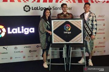 LaLiga Spanyol resmikan musim 2019/2020 dengan sentuhan batik