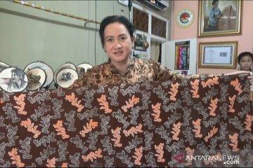 Batik khas Sukabumi makin mendunia