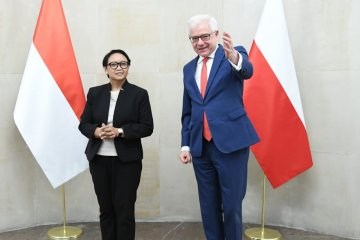 Menlu RI kunjungi Polandia untuk tingkatkan perdagangan bilateral
