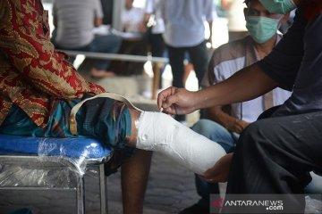 Bantuan kaki palsu penyandang cacat