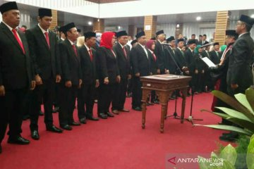 50 anggota DPRD Kabupaten Cirebon periode 2019-2024 dilantik