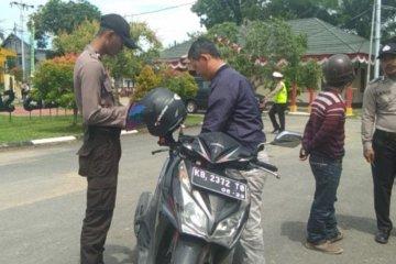 1.025 pengendara ditilang selama Operasi Patuh Kapuas 2019 di Sambas