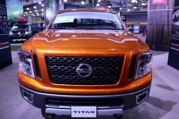 Tampilan awal Nissan Titan 2020 muncul sebelum debut