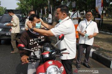 PLN Aceh bagi masker