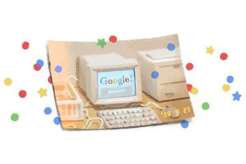 Rayakan ulang tahun, Google Doodle pajang komputer lawas