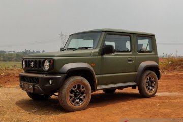 Banjir permintaan, Suzuki hentikan sementara inden Jimny
