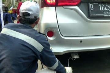 DLH Kota Tangerang gelar uji emisi kendaraan