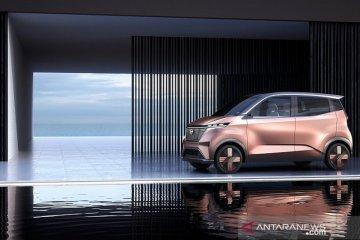 Nissan IMk, mobil listrik perkotaan tawarkan kabin senyaman kamar
