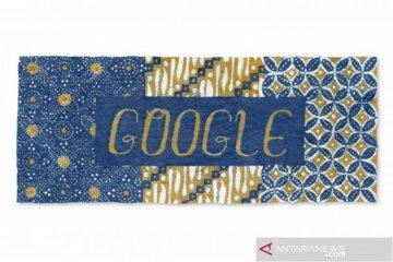 Google rayakan Hari Batik Nasional, tampilkan motif parang dan kawung