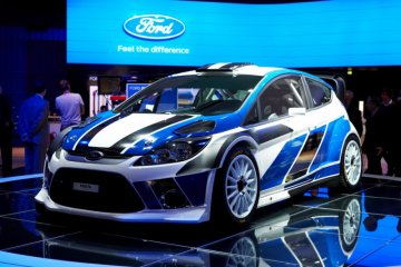 Ford Fiesta versi mainan RC jadi kelinci percobaan swakemudi