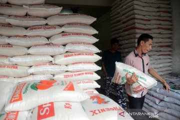 Harga beras naik
