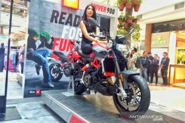 "Piaggio Indonesia rilis ""naked bike"" Aprilia Shiver 900"