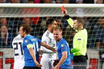 Jerman dengan 10 pemain pecundangi Estonia