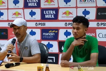 Menang lawan China, Fakhri Husaini puji tiga gol timnas Indonesia U-19
