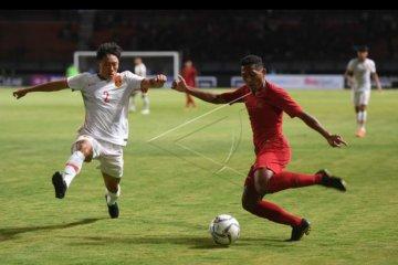 Laga persahabatan Timnas U-19 Indonesia lawan China
