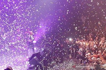 Marcell Siahaan sukses gelar konser 17 tahun bermusik