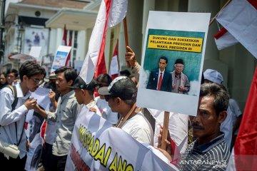 Aksi Dukung Keamanan Pelantikan Presiden