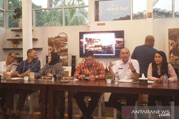 18 lurah dan camat di Bogor menari Saman pada Festival Budaya Aceh
