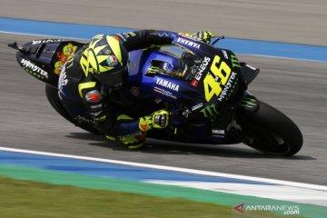 Valentino Rossi komentari penampilannya gagal finis di GP Jepang