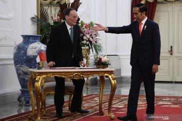 Presiden Jokowi terima kunjungan Wapres China