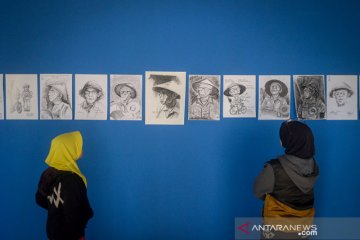 Pameran Flashmob Drawing