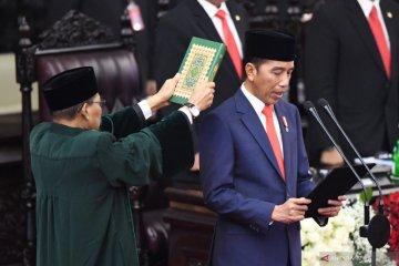 Pelantikan Presiden, akhir jalan panjang perjalanan pilpres 2019