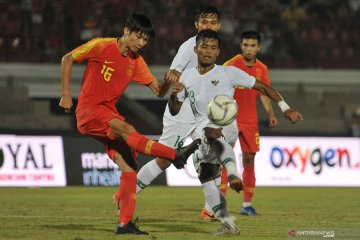 Timnas U-19 Indonesia dikalahkan China